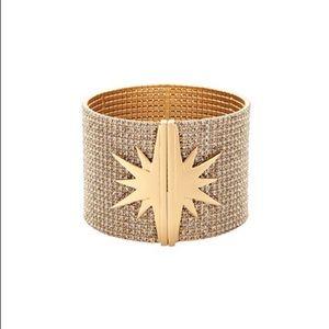 NIB India Kicks Star Cuff Bracelet